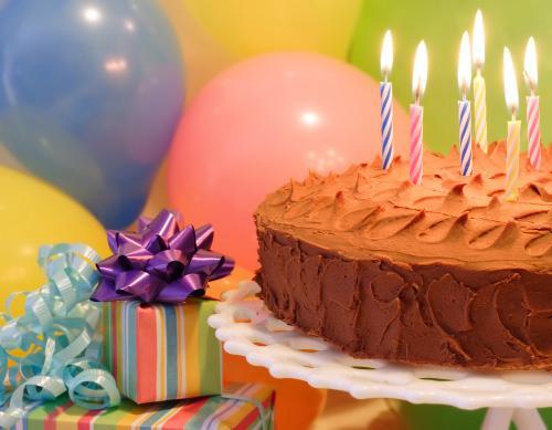 Торт и грустное день рождения фото