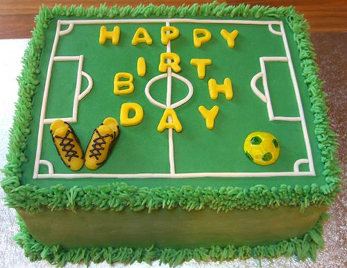 Поздравления с днём рождения футболисту